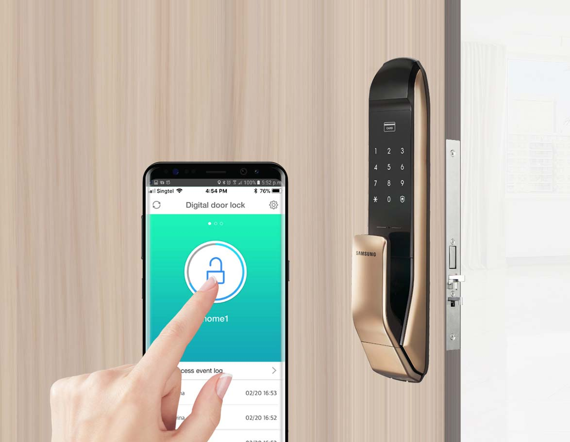 Samsung Door Lock Samsung Digital Lock Product Singapore