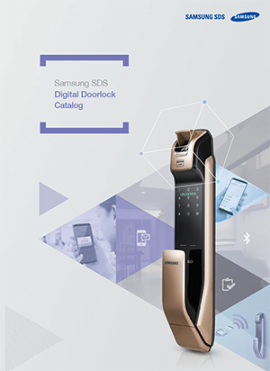 Samsung Digital Door Lock Brochures Amp Manuals