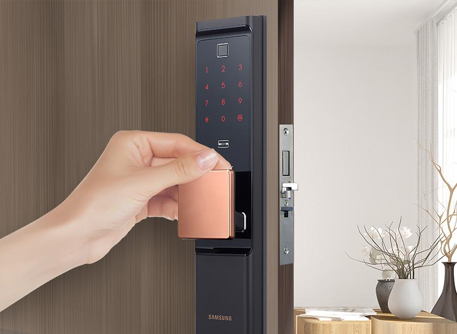 SAMSUNG SHP-DR708 | SMART IoT, WiFi DIGITAL DOOR LOCK